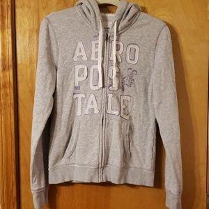 Aeropostale zip front hoodie